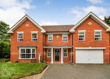 Thumbnail 6 bed detached house for sale in Harwood Road, Norwich