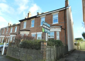 Thumbnail 4 bed semi-detached house for sale in Hall Road, Leckhampton, Cheltenham