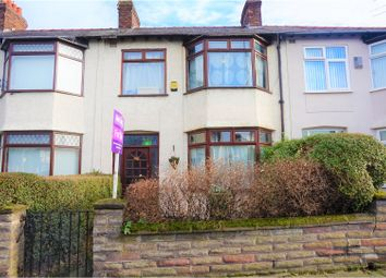 Thumbnail 3 bed terraced house for sale in Derby Lane, Liverpool