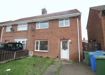 Thumbnail 3 bed semi-detached house to rent in Ravensdale Grove, Blyth