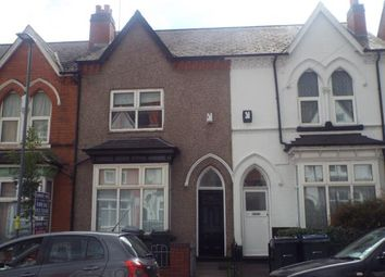Thumbnail 3 bed terraced house for sale in Arden Road, Aston, Birmingham, West Midlands