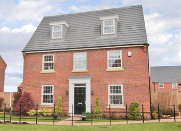 "Thumbnail 5 bedroom detached house for sale in ""Emerson"" at Waterlode, Nantwich"