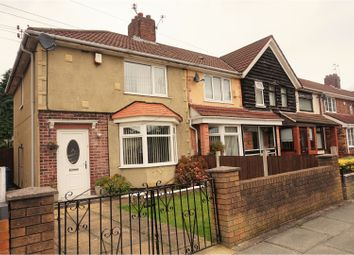 Thumbnail 3 bed end terrace house for sale in Carr Lane, Liverpool