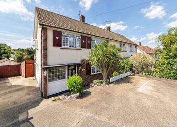 Thumbnail 3 bed semi-detached house for sale in Love Lane, Rayleigh, Essex