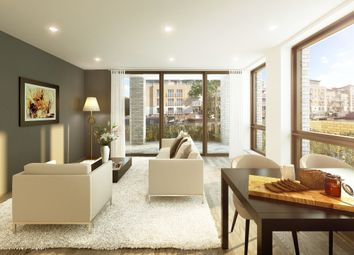 Thumbnail 2 bedroom flat for sale in Brentford Lock West, Durham Wharf Drive, Brentford, London
