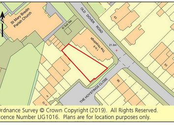 Thumbnail Land for sale in Land Rear Of The Hoystings, 56 Old Dover Road, Canterbury, Kent
