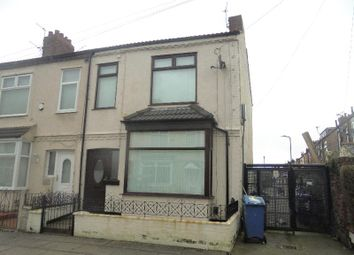 Thumbnail 3 bed end terrace house for sale in Brookbridge Road, Liverpool
