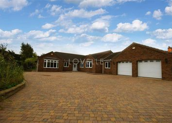 Thumbnail 5 bed bungalow for sale in High Street, Blyton, Gainsborough
