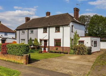 Thumbnail 3 bed semi-detached house for sale in Pollards Oak Crescent, Hurst Green, Surrey