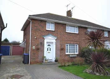 Thumbnail 3 bedroom semi-detached house for sale in Orchard Avenue, Worthing, West Sussex