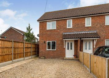 Thumbnail 2 bed semi-detached house for sale in Plasset Drive, Attleborough
