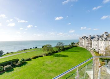 Thumbnail 3 bed flat for sale in Clifton Crescent, Folkestone