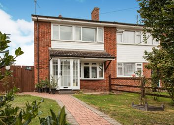 Thumbnail 3 bedroom semi-detached house for sale in Springfield Road, Sawston, Cambridge