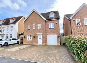 Thumbnail 5 bed detached house for sale in Jersey Drive, Winnersh, Wokingham