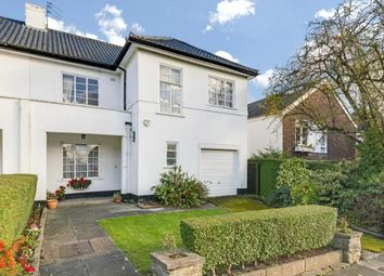 Thumbnail 4 bed semi-detached house for sale in Ossulton Way, Hampstead Garden Suburb, London