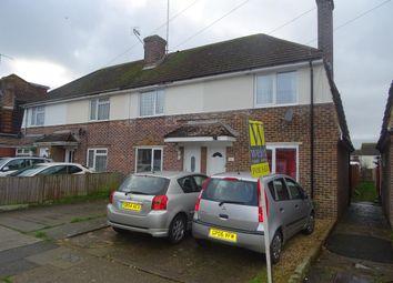 Thumbnail 2 bed end terrace house for sale in Conbar Avenue, Rustington, West Sussex
