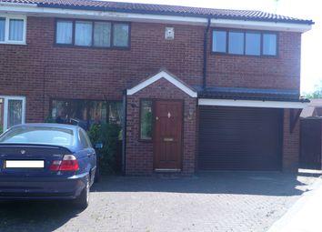 Thumbnail 3 bed semi-detached house to rent in Daniel Close, Birchwood, Warrington