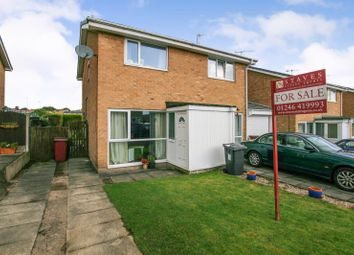Thumbnail 2 bed semi-detached house for sale in Ennerdale Close, Dronfield Woodhouse, Derbyshire