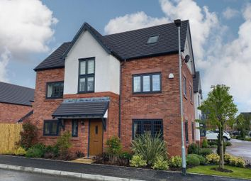 Thumbnail 5 bed detached house for sale in Riflemans Close, Wilmslow