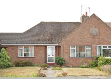 Thumbnail 2 bed semi-detached bungalow for sale in Bishton Road, Albrighton, Wolverhampton