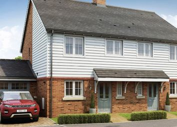 Thumbnail 3 bed semi-detached house for sale in The Elder, Orchard View, Vicarage Road, Yalding Kent