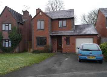 Thumbnail 4 bed detached house to rent in Westminster Drive, Burbage, Hinckley