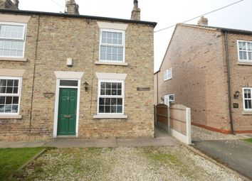 Thumbnail 2 bed end terrace house for sale in Station Road, Foggathorpe, Selby