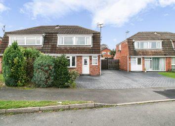 Thumbnail 3 bedroom semi-detached house for sale in Kirkland Close, Castle Donington, Derby