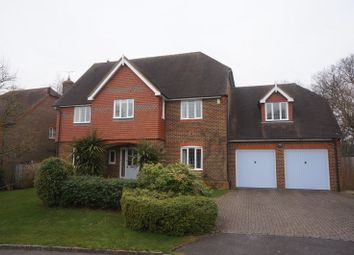 Thumbnail 5 bed detached house to rent in Penrose Way, Four Marks, Alton