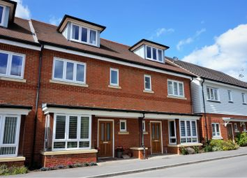 Thumbnail 3 bed town house for sale in Willowbourne, Fleet