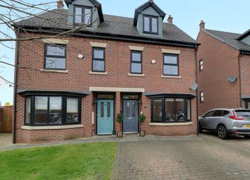 Thumbnail 3 bed semi-detached house for sale in Coppenhall Way, Sandbach