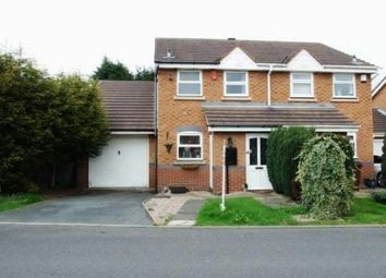 Thumbnail 2 bed semi-detached house to rent in Speedwell Close, Wednesfield, Wolverhampton