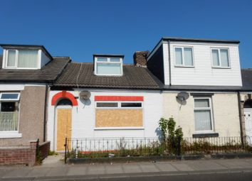 Thumbnail 2 bedroom terraced house for sale in 51 Tower Street West, Sunderland, Tyne And Wear