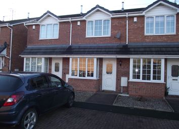 Thumbnail 2 bed mews house to rent in Primrose Park, Brierley Hill, West Midlands