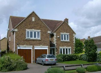 Thumbnail 5 bedroom detached house to rent in The Ashway, Brixworth, Northampton