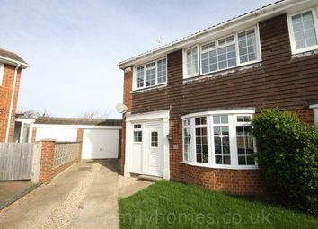 Thumbnail 3 bed semi-detached house to rent in Dunedin Close, Sittingbourne