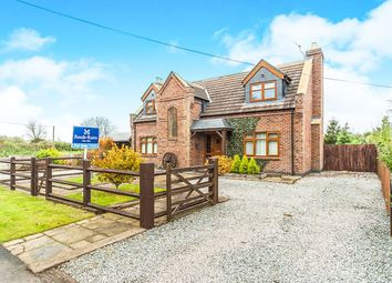 Thumbnail 4 bed detached house for sale in North Leys Road, Hollym, Withernsea