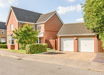 Thumbnail 4 bedroom detached house for sale in Tudor Avenue, Diss