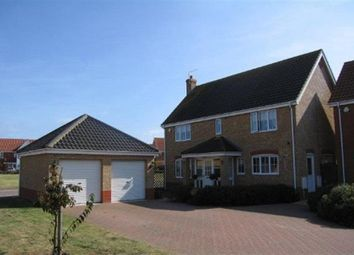 Thumbnail 4 bedroom detached house to rent in Seafields Drive, Hopton, Great Yarmouth