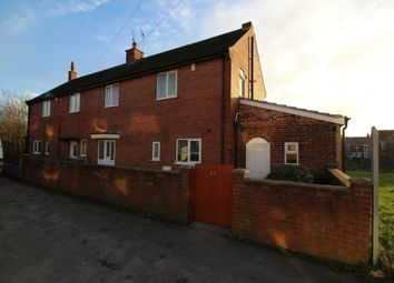 Thumbnail 3 bed semi-detached house to rent in Leicester Road, Dinnington, Sheffield
