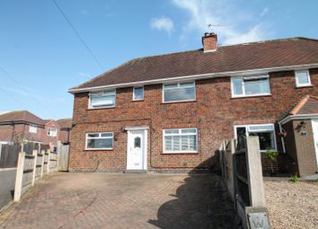 Thumbnail 3 bed semi-detached house for sale in Hilltop, Oakwood, Derby