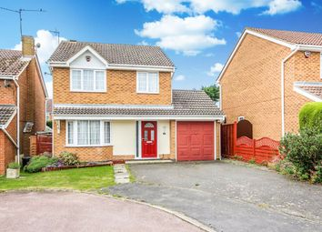 Thumbnail 3 bed detached house for sale in Walmer Close, Rushden, Northamptonshire