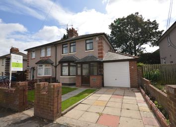 Thumbnail 3 bed semi-detached house to rent in Byrne Avenue, Rock Ferry, Birkenhead