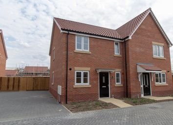 Thumbnail 2 bedroom semi-detached house for sale in Segrave Road, King's Lynn