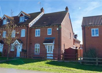 Thumbnail 3 bed semi-detached house for sale in Warren Lane, Lincoln