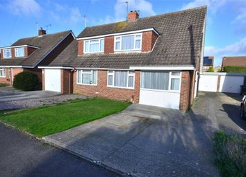 Thumbnail 4 bed semi-detached house for sale in Burleigh Croft, Hucclecote, Gloucester