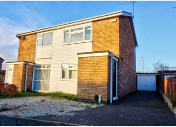 Thumbnail 2 bed semi-detached house for sale in Culworth Drive, Wigston