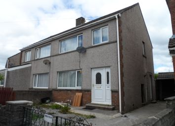 Thumbnail 3 bed semi-detached house to rent in Llangewydd Road, Cefn Glas