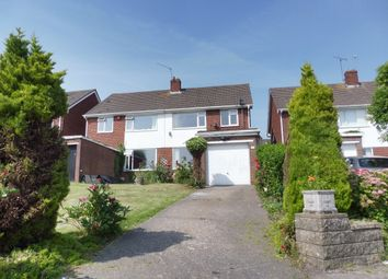 Thumbnail 3 bed semi-detached house for sale in Dochdwy Road, Llandough, Penarth