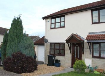 Thumbnail 2 bed semi-detached house for sale in Nutwell Square, Weston-Super-Mare, Somerset